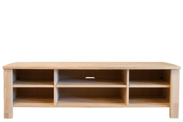 manhattan tv bord i massiv egetr 170cm bred klasse a eg. Black Bedroom Furniture Sets. Home Design Ideas